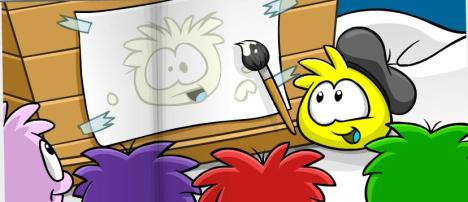 oh. so there is going to be a white puffle coming soon, niiice :D