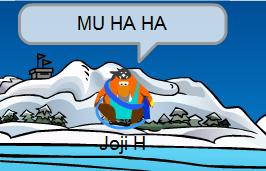 Stomping Club Penguin is fun!!! HA HA godzilla!!!