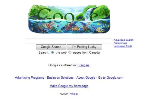 google-on-earth-day