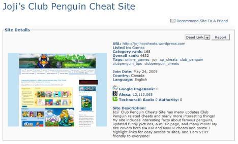 joji's site ranked!