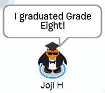 Joji graduated grade eight